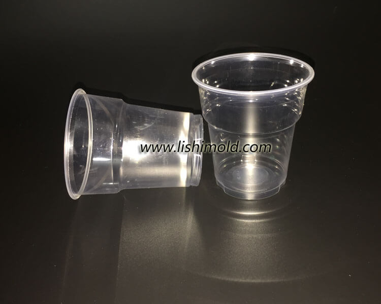 透明一次性塑料水杯 航空杯