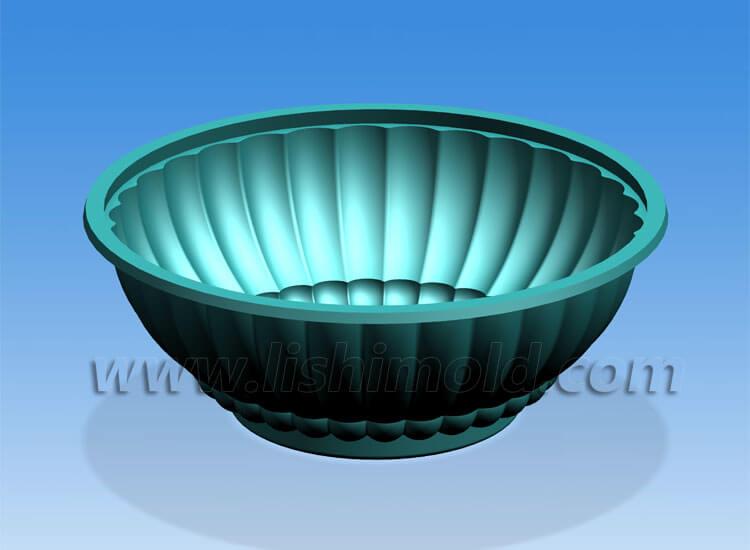 塑料碗设计