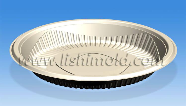 玉米淀粉碟子设计图