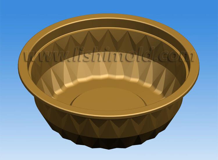 塑料水晶碗设计图