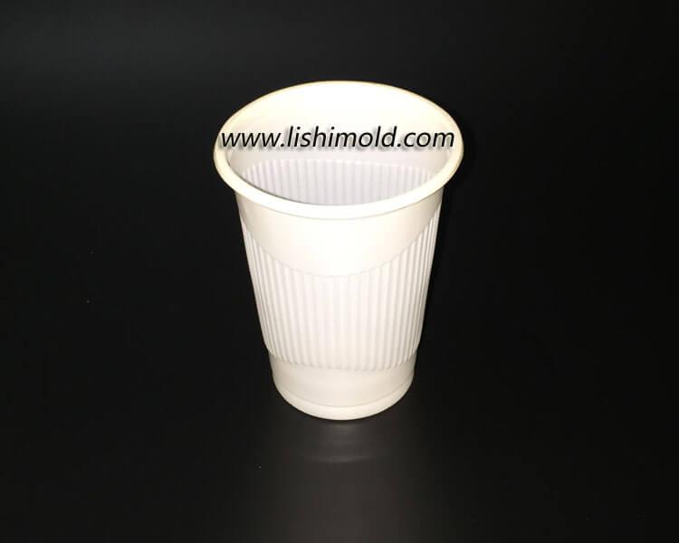 白色不透明一次性PP塑料杯