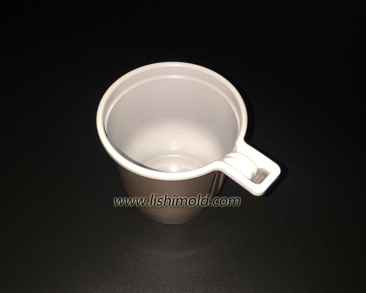 双色塑料咖啡杯