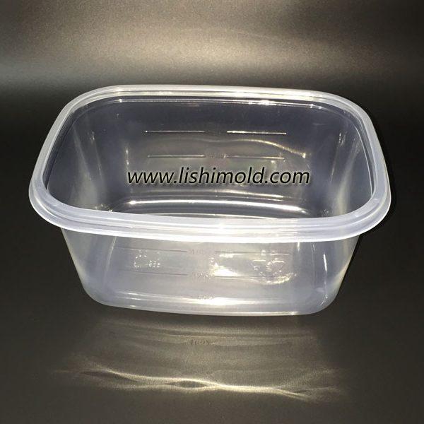 微波炉保鲜盒,长方形食品级一次性食品保鲜盒