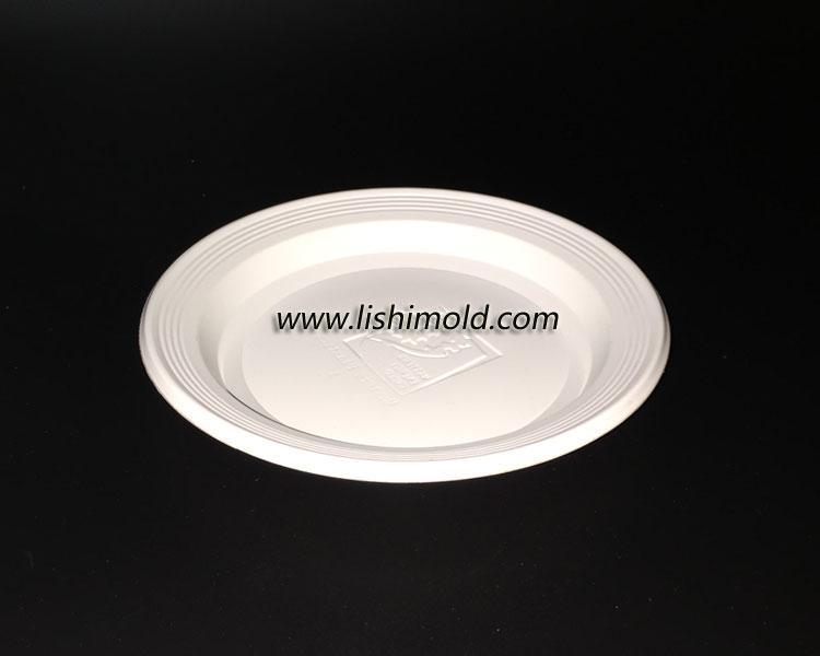一次性塑料餐盘 白色