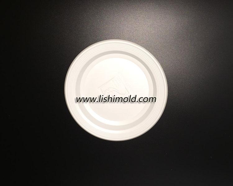 一次性塑料餐盘 正面图