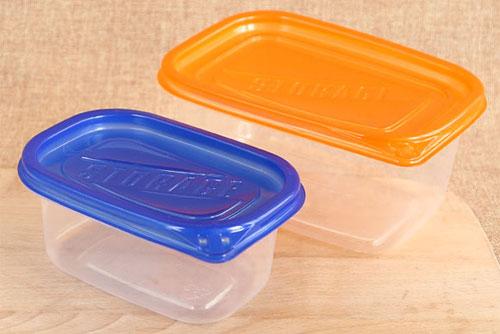 正确使用塑料保鲜盒