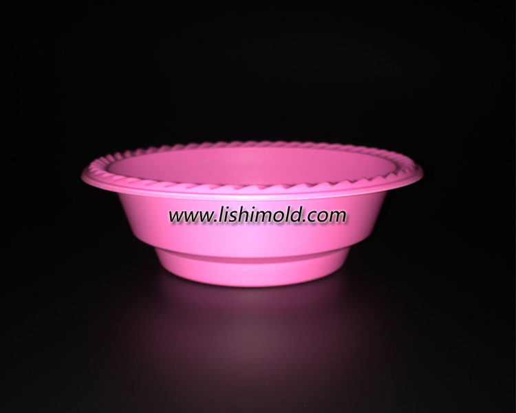 PS塑料碗 红色