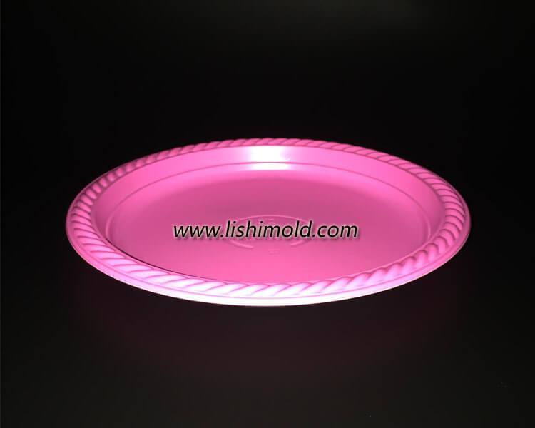 一次性彩色圆盘子 圆碟子
