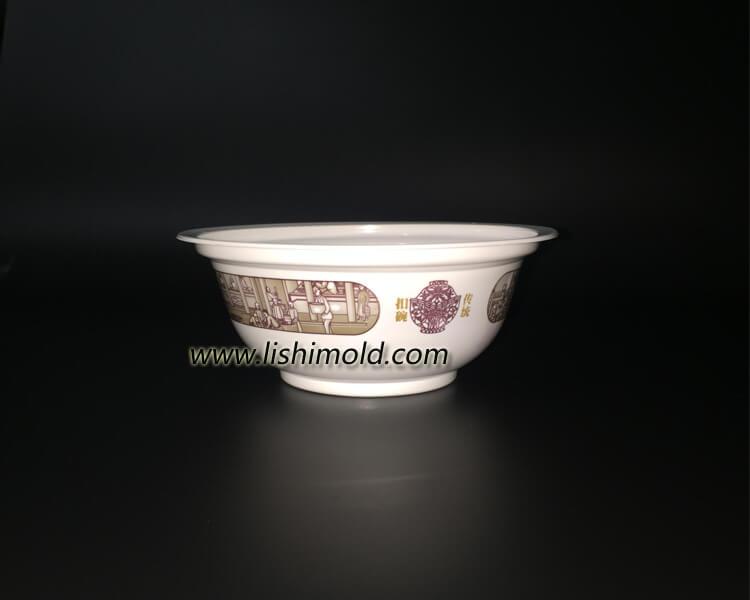白色塑料环保打包碗