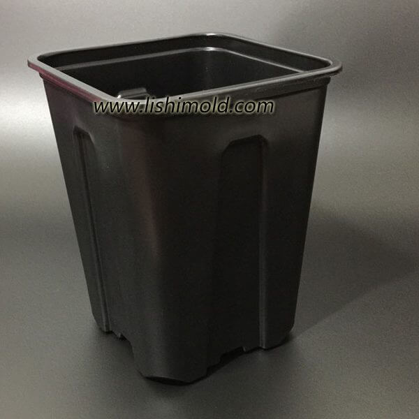 黑色塑料花盆 育苗盆