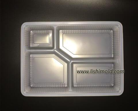 一次性塑料餐盒,塑料打包盒 正面