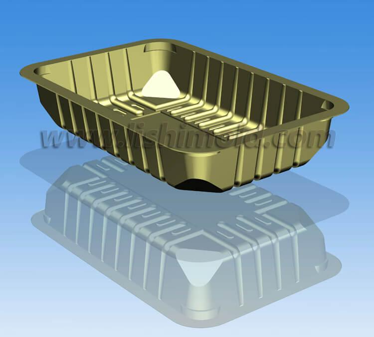 塑料一次性超市速冻封口食品包装盒