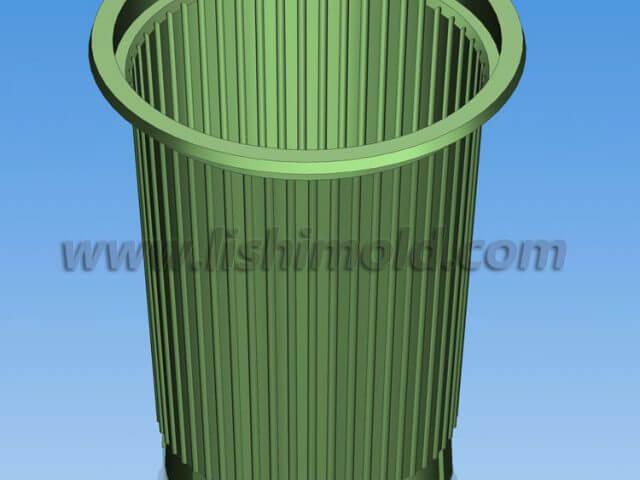 Φ72口径一次性塑料杯-加强筋